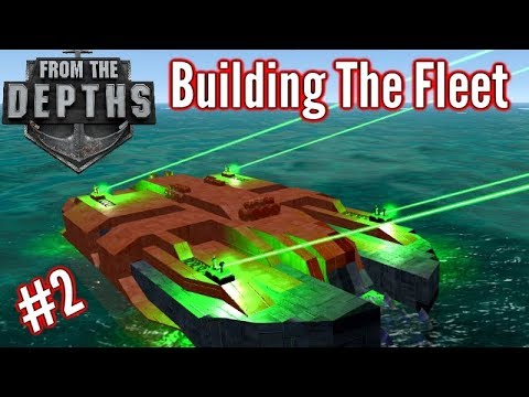 Building The Fleet | #2 | Guardian 'Ship' (Anti Munition Laser Vehicle!)  | From The Depths