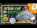 Insgesamt 10'000 CHF in Kryptowährungen investiert 💰💎   Sparkojote