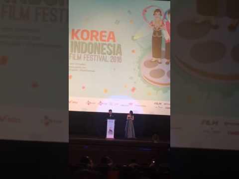 Julie Estelle di Korea Indonesia Film Festival