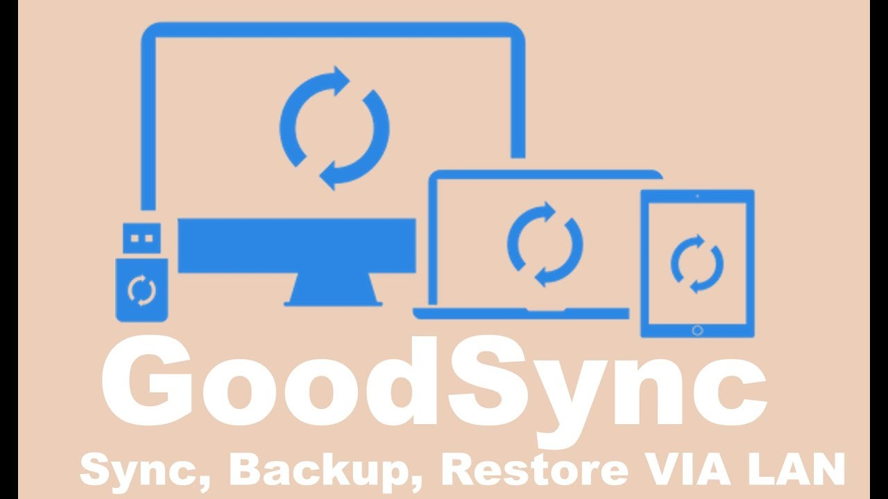 GoodSync Backup synchronization