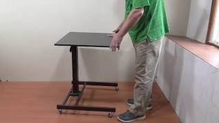 Стол для работы стоя и сидя  с изменяемой высотой