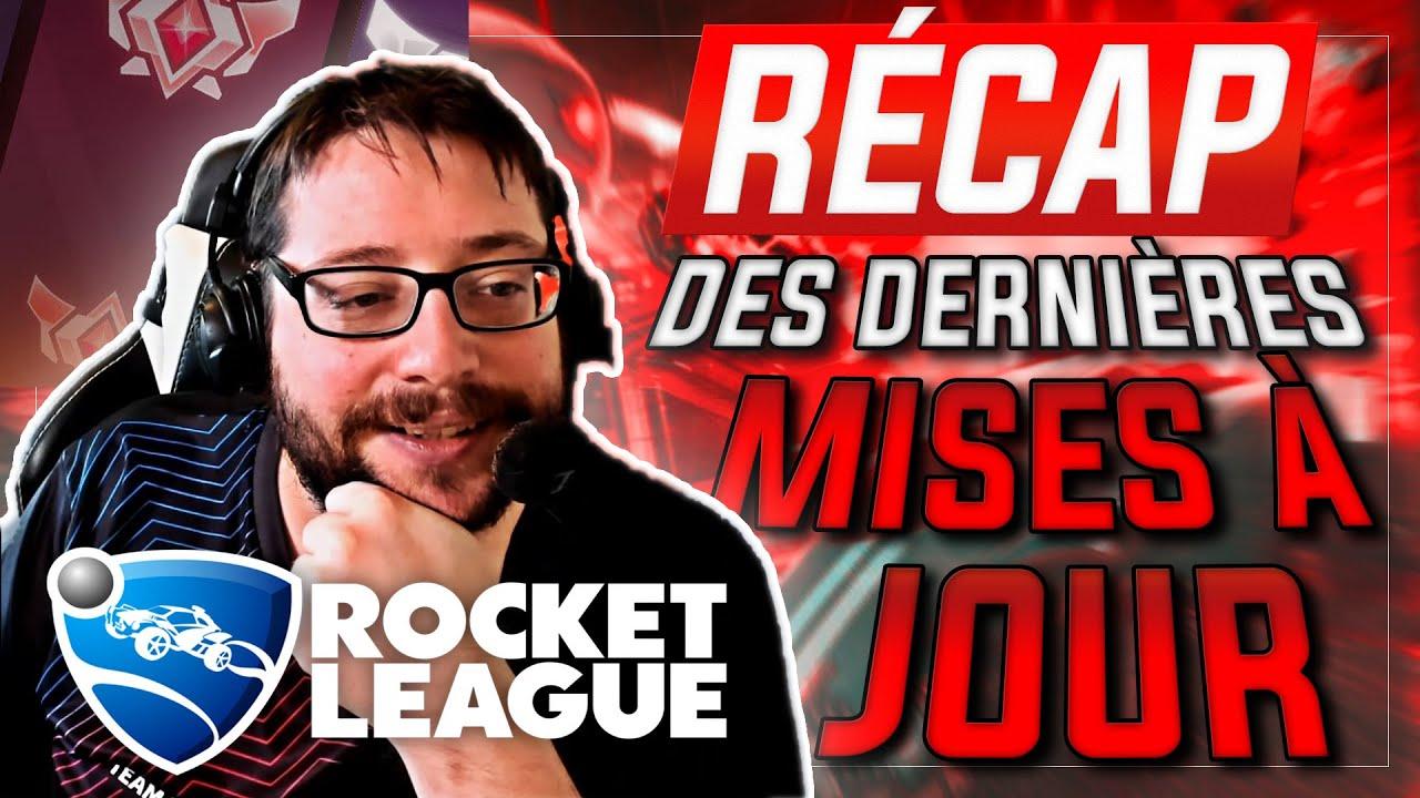 LES NOUVEAUTÉS DE ROCKET LEAGUE !! (RLCS X, RANKED, MODE TOURNOI, THE GRID, EPIC GAMES ETC...)