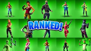 ALL Fortnite Uncommon Skins RANKED! (Top 10 Best Uncommon Skins In Fortnite)