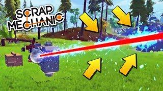 НАСТОЯЩИЙ РАЗРУШИТЕЛЬНЫЙ ЛАЗЕР в Scrap Mechanic !!! СКАЧАТЬ СКРАП МЕХАНИК !!!