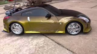 RC Nissan 350Z tokyo drift Tuning Toy Spinners NISMO