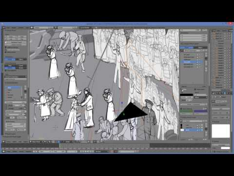 Titanic VR 360 Storyboards
