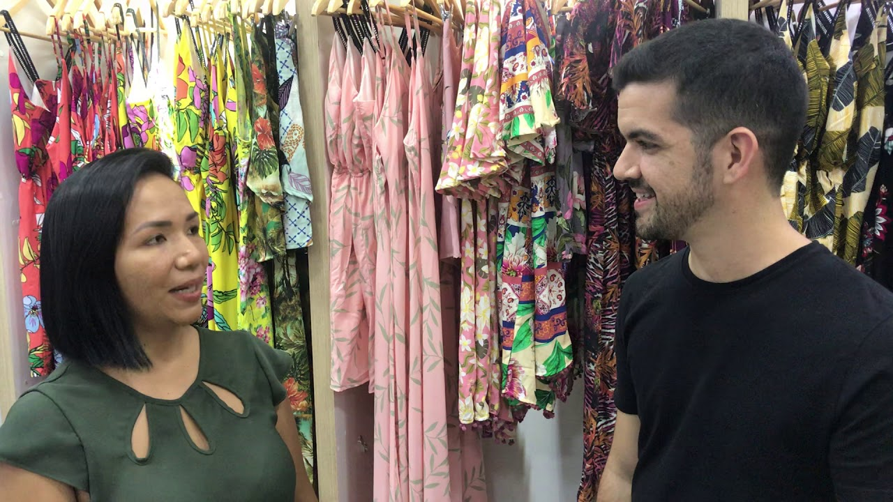 ab4150f97 Ela foi do Amazonas a Goiânia comprar roupas para revender... - YouTube