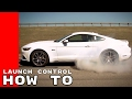 2017 Ford Mustang Launch Control, Line Lock, & Driving Modes