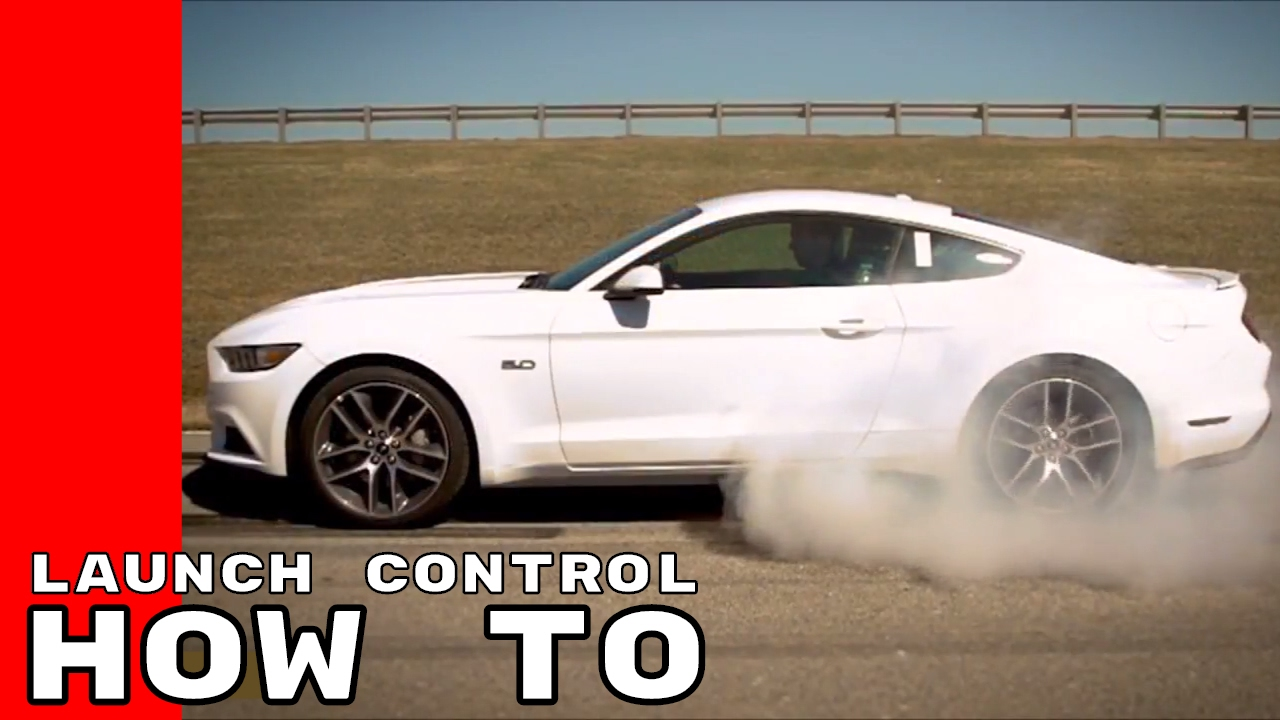 2017 ford mustang launch control line lock driving modes