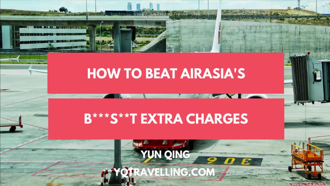 AirAsia booking without extra charges
