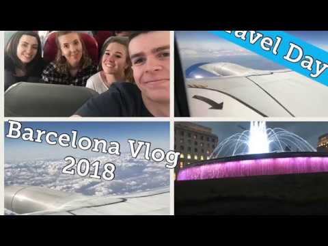 Travel Day| Barcelona Vlogs| First ever Vlog| Scott The Wilderness Explorer