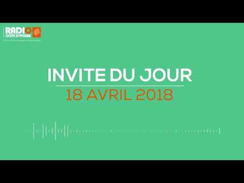 ''L'invité du jour'' du 18 avril 2018-Radio Côte d'Ivoire