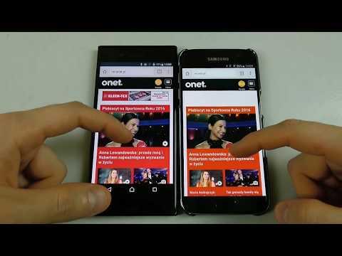 Sony Xperia XZ vs Samsung Galaxy S7 - #SpeedTest
