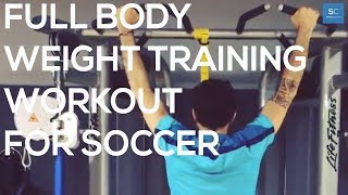 Full Body Weight Training Workout For Soccer