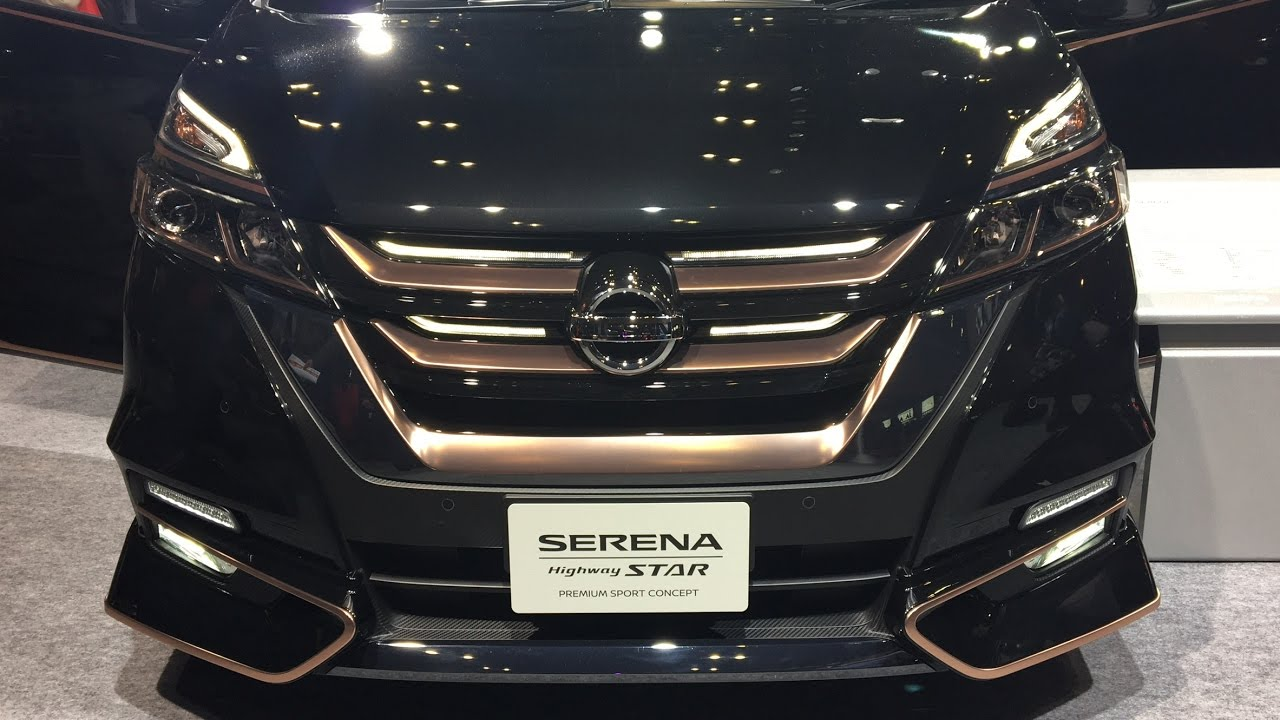 日産 新型 セレナ プレミアム スポーツ コンセプト 実車見てきたよ!nissan New Serena