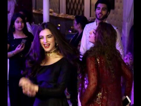 Maya Ali Crazy Dance on Aiman Khan Engagement