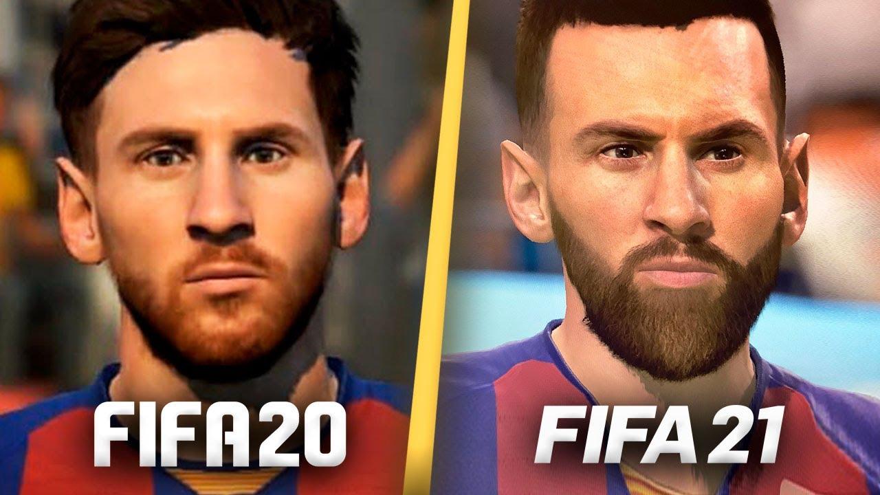 Las NUEVAS CARAS de FIFA 21!!! (Messi, Haaland, Neymar)