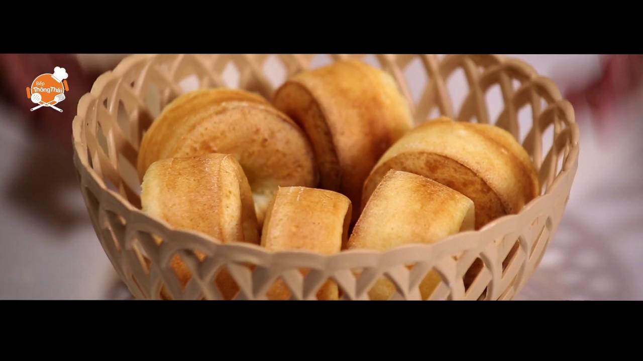 Cách làm bánh mì phô mai Brazil cho bữa sáng dinh dưỡng   Bếp Thông Thái