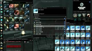 Eve Online Market & Industry Tutorial - Part 3/5 - Original Blueprints, Building Ships, Moving Ships