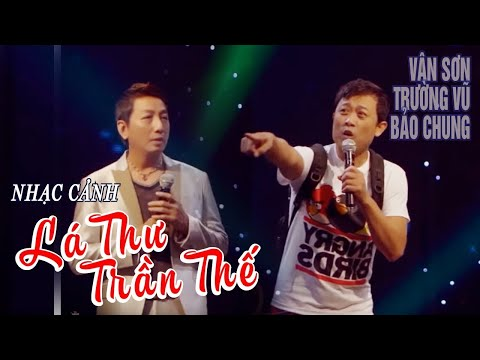 VAN SON 😊 Live Show New York Hài Kịch   Lá Thư Trần Thế   Vân Sơn -Trường Vũ - Bảo Chung.