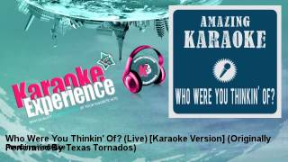 Amazing Karaoke - Who Were You Thinkin