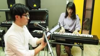 スキマスイッチさんの「奏」をオトハムジカの二人で演奏してみました。