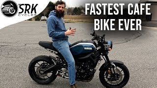 Why the Yamaha XSR900 is insane and why you don't want one