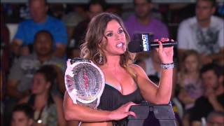 Mickie James Delivers a Message to Gail Kim and Taryn Terrell - July 4, 2013