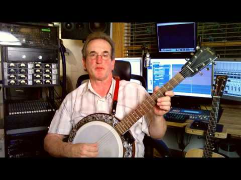 Introduction to the 6 string Banjo - Play it like a guitar!