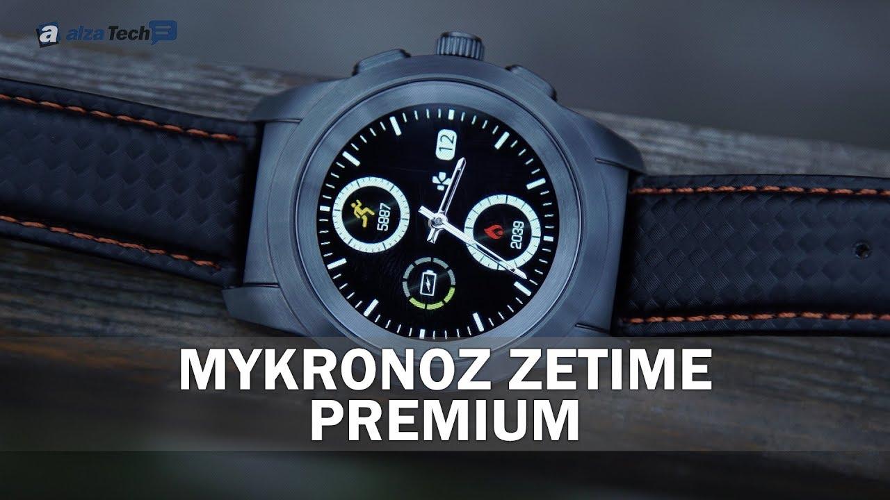 MyKronoz ZeTime Premium  Elegantní kombinace inteligence a mechaniky! -  AlzaTech  691 29844a32316