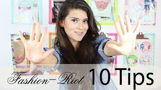 Guardarropa con bajo presupuesto! (Tips)  | Fashion Riot Thumbnail