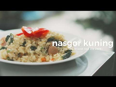 SoundsFromTheKitchen - Nasi Goreng Kuning #MAKANANKOS