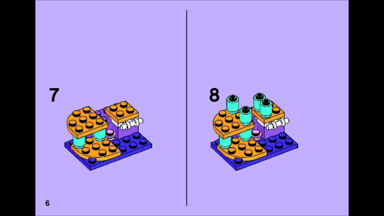 Lego Friends 41018 Cats Playground Building Instructions Youtube