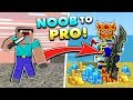 How to Go From NOOB to PRO in Pixel Gun 3D!! (No Hack)