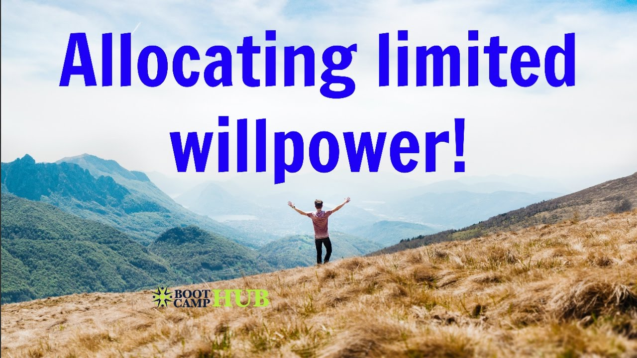 22 Truths About Willpower advise