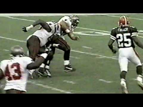 Mike Alstott vs Browns (Week 6 - 2002) - NFL Highlights HD