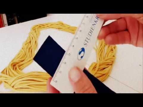 Tutorial: Fransen Loopschal selber machen – DIY Loop Schal Nähen Stricken