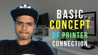 Basic Concept Of Any Printer Connection to Computer | প্রিন্টার কানেকশনের মূল বিষয় | Tech Biporit
