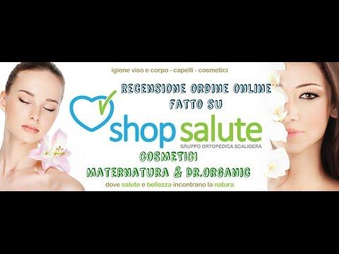 RECENSIONE COSMETICI ECO-BIO (Maternatura e Dr.Organic) - Store online SHOP SALUTE