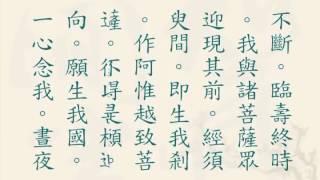 《大乘无量寿庄严清净平等觉经》崔居士读诵