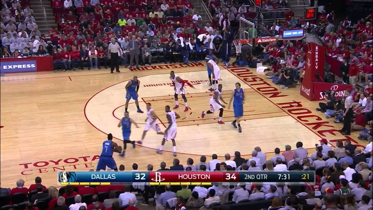Al-Farouq Aminu Highlights 21.04.2015 at Houston Rockets