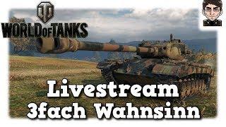 World of Tanks - Livestream Aufzeichnung 3fach XP am Wochenende [deutsch]