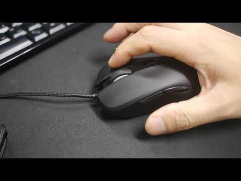 MAXTILL RATIO S61 마그네틱 스위치 3360 RGB 게이밍 마우스 클릭감