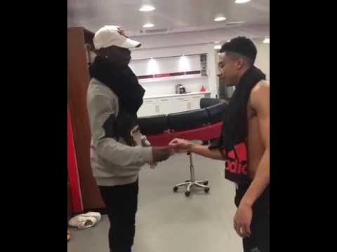 Watch: Man UTD Paul Pogba and Jesse Linguard dances Wizkid's Come Closer