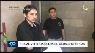 Esta es la celda de Gerald Oropeza en penal Ancón I