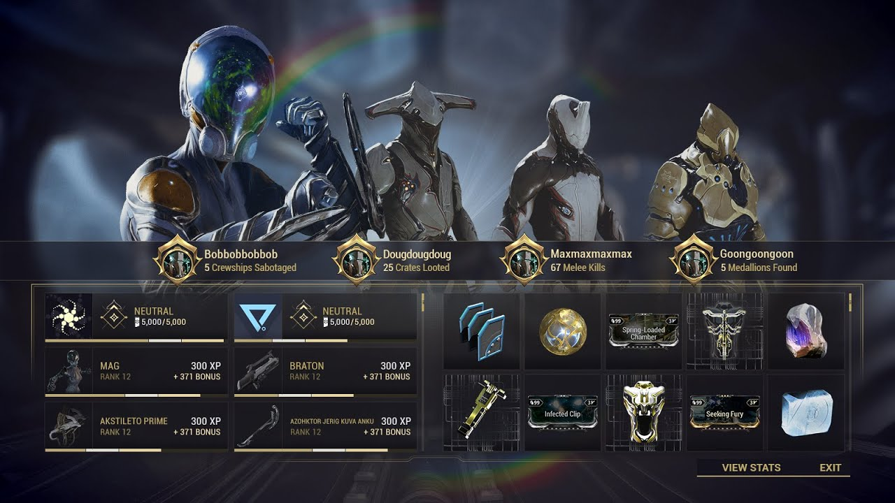 Warframe Rant More About the UI - Stream Highlight thumbnail