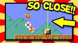 SO CLOSE! Mario Multiverse Beta Levels [like Super Mario Maker]