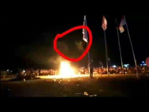 Video viral - Penampakan Saat Acara Api Unggun Pramuka Dicikande