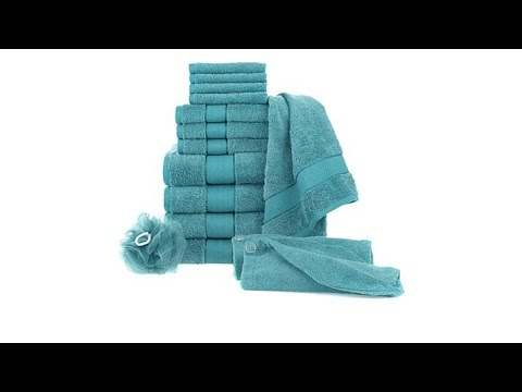 Concierge Collection 100% Turkish Cotton 15pc Towel Set