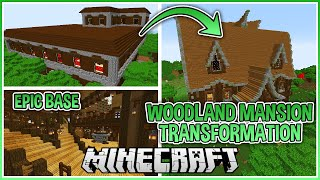 Converting a Woodland Mansion into an Epic Minecraft Base! (With world download)